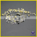 Non hotfix glass point back crystal stone for rhinestone cup chain