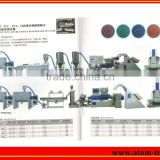 Rubber/PVC/EVA Double-shaft High-speed Water Cooling Type Granulator Prodution Line