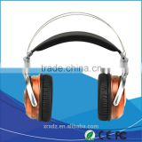 2016 New Fashion Wooden Headphone with 50mm Speaker for Computer or Mobile Phone Accessories