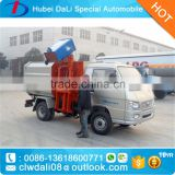 Forland mini hydraulic lifter container garbage truck ,garbage container lift trucks with side lift waste container                                                                         Quality Choice