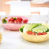 colorful plastic salad bowl /sugar bowl /soup bowl fruit storage tableware food container