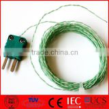 K Type Thermocouple Extension Cable with Male Connector