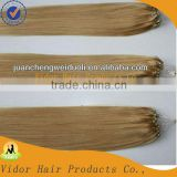 Wholesale Micro Loop Hair Extensions Easy Loop 1g Micro Bead Brazilian Hair Extension Double Bead Brazilian Micro Ring Loop Hair