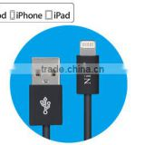 MFi License Approved Power Sync Cable For Apple Lightning iPhone 5 5C 5S iPad Mini iPad 4 Air