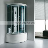 FC-103 one person portable sauna room indoor luxury shower steam room touched computer panel shower steam room