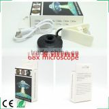 Brand New Universal LED Clip Mobile Phone Microscope Magnifier Micro Lens 68X Optical Zoom Telescope Camera