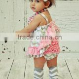 Koya 2015 new style baby diper sleeveless diaper outfits ruffle panties baby panties bloomer