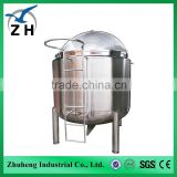 electric vacuum heating mixing tank stainless steel storage tank