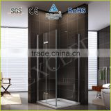 Aluminum profile with 20MM adjustment hinge and pivot shower enclosure EX-215
