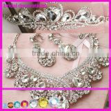 2014 New Design crystal Bridal Crown rhinestones applique trims                                                                         Quality Choice