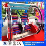 Direct manufacture with 10 years experience in 2 persons electric car /electric swing amusement rides happy car