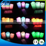 2015 Wholesale Color Changing Flameless Led Candle