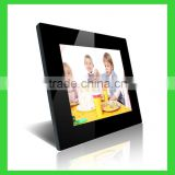 "family photo frame with 12 "" lcd with muti function with wall mount digital photo frame"
