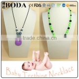 Baby Stuff teething necklace safe silicone necklace