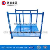 Economical and industrial flat steel rack pallet storaging use dismantaling stackable rack pallet racking system