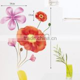 Three generations can remove wall stickers bloom bedroom, sitting room dining room setting wall stickers JM8237