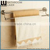 15125 High demand product in market stainless steel 304 brush nickel bathroom accessory double towel bar