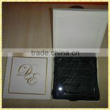 Customized Engraved Glass Sample Wedding Invitation Cards For Wedding Guest Souvenir Gifts