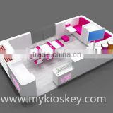 Factory made nail kiosk | shopping mall nail kiosk design | manicure table with nail dust collector for sale