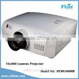 lcd projector beamer 1920x1200p outdoor Large venue building Projector black PLWU8600 10000 ansi lumens video projector