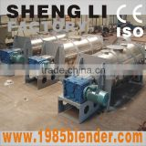 Gypsum plough shear mixer