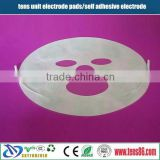 facial Conductive self adhesive tens Pads for Banana Leads