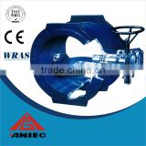 WCB Ductile iron Gear Box Triple Offset Butterfly Valve