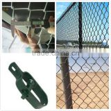 powder coated chain link fence Galvanized or PVC Coated / malla de alambre de diamante,valla
