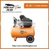 220V/50HZ, copper wire, 2HP portable direct driven air compressor, 50L air compressor, CE