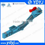 High efficiency carbon steel inclined redler scraper chain conveyor