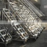 Fire truck aluminum folding ladder