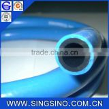 Heavy Duty PVC Air Hose / Blue Air Hose with Connectors for Conveying Air in Compressor