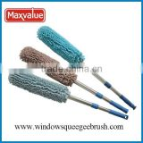 Telescopic auto cleaning duster