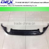 rear bumper lip diffuser for V~W GOLF 7 GTI