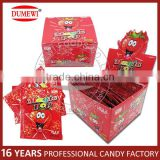 Family foods shocking popping candy-strawberry flavor box packed