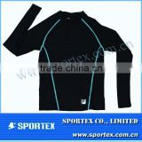 2012 nearest fashionable OEM men's Compression shirt