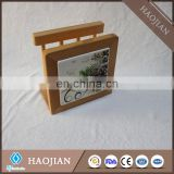 solid wood toilet tissue holders with sublimation tile