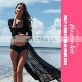 Top Quality Women Sexy Crochet Cover Up Tunic Lace Beach Dress