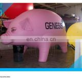 new pink giant inflatable pig helium balloon/inflatable flying pig