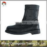 leather safety military boots