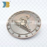 hot sell custom metal singapore artillery institute souvenir coin for wholesale