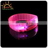 Best selling items flashing led wristband led bracelet sound activated led bracelet for party supplies