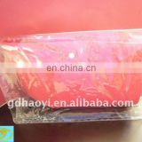 clear pvc packaging bag,pvc poly bag with button closure,tote bag shiny transparent pvc