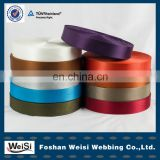 Deepskyblue manufactory cheap polyester webbing for clothes