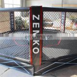 Wall to wall 6x6 meter mma octagon cage
