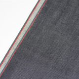 10oz Slim Selvedge Jeans Red Stretch Denim Fabric Factory W0865-3