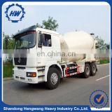 Used cement mixer truck machine with hydraulic pump/ mobile concrete mixer truck price