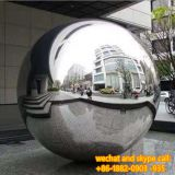 Customized Popular Metal Mirror Ball Garden Sculpture Wholesale High Standard