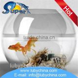 High quality large glass fish bowl for wholesales
