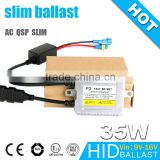 high quality 12v 24v hid xenon lamp type electronic EMC ballast 35w for h1 h4 lamps hid fast bright ballast 35w 23000v headlight